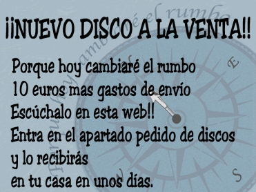 cartel pedido discos copia